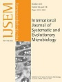 Microbial Ecology International Journal of Systematic and Evolutionary Microbiology